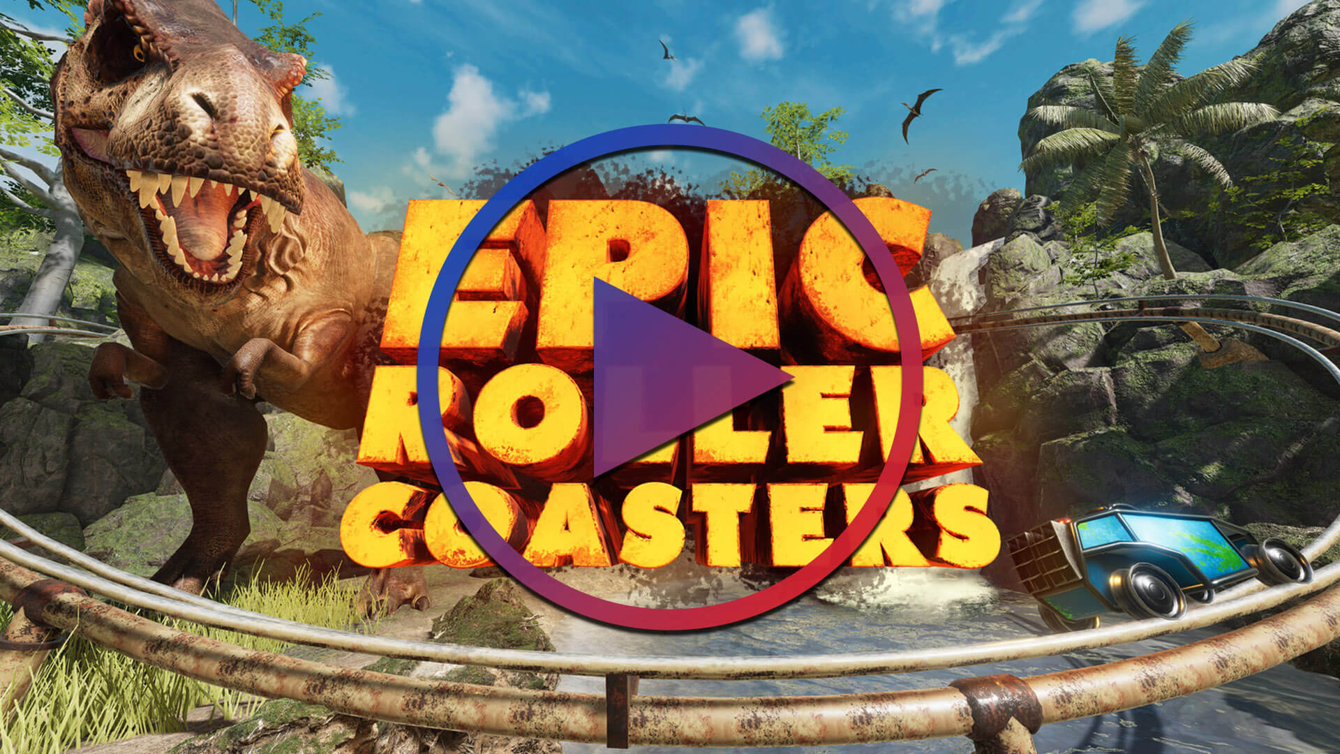 Epic Roller Coasters Trailer